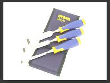 Irwin Marples MS500 Soft Touch Smussato Bordo Scalpello Set 3