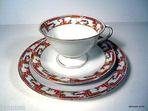 Antiguo Juego de Café Cubertería 30er Edelstein Baviera Thea Irene Noble Pieza