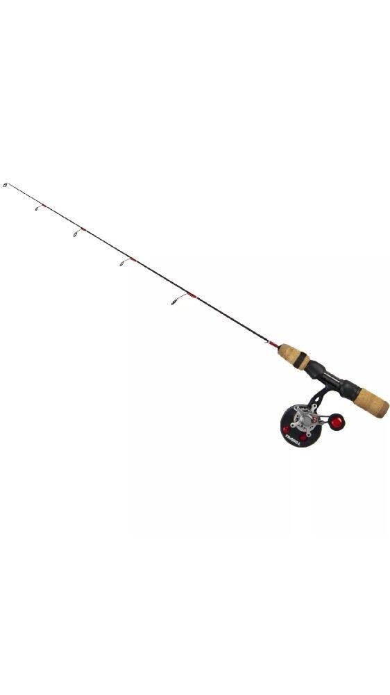 "New Frabill Ice Fishing 371 Straight Line Bro Series 36"" Light Combo"