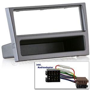 Nissan Primera P11 DIN ISO Radioblende Auto Radio Blende Einbaurahmen anthrazit