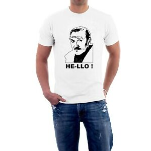 Leslie Phillips T-shirt DING DONG ! / HE-LLO ! Movies Carry On Films Sillytees