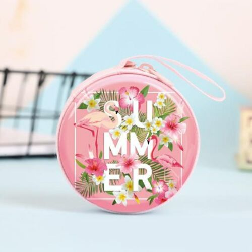 Flamingo Case Carrying Hard Bag Earphone Headphone Earbuds Bag Hot Sale