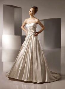 Benjamin-Roberts-039-2130-039-Designer-Wedding-Dress-Size-8-Brand-New-ONLY-595