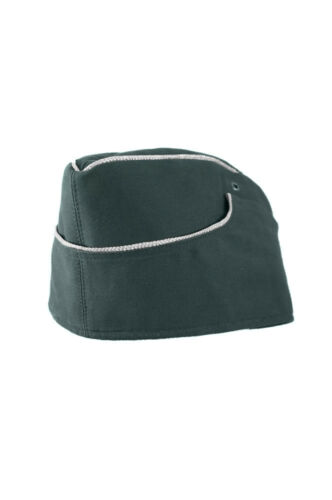 WWII German M38 Officer summer reed green HBT overseas cap