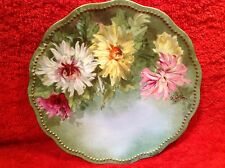 Antique Limoges Cabinet Plate c.1891-1900's, L57