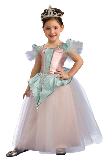 Cotton Candy Princess Pink Ball Gown Fantasy Dress Up Halloween Child Costume