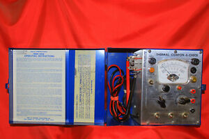 Thermal Engineering Co Thermal Compon-E-Check 3050A 3O5OA Only Tested For Power