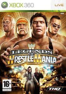 Xbox-360-Wwe-leyendas-de-WrestleMania-Nuevo-Y-Sellado-existencias-oficiales-del-Reino-Unido