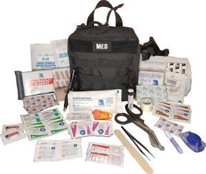 Elite First Aid GP IFAK Level 1 Kit Bandages Gauze Sponge Emergency Blanket etc.