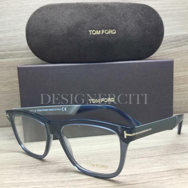 053db4ffa1d Tom Ford TF 5372 TF5372 Eyeglasses Opal Blue Ruthenium 090 Authentic 54mm