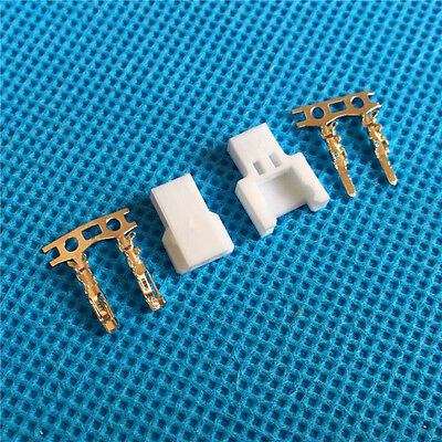 Female with Crimps 50 Sets Micro JST Losi Walkera 2-pin Connector plug Male