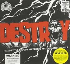 VARIOUS ARTISTS - DESTROY: MIXED BY ASTON SHUFFLE & THE BLOODY BEETROOTS USED -