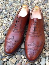 CROCKETT & JONES.'FINSBURY' MADE IN ENGLAND. UK 8.5 EU 42.5. Classic Brogue.