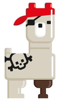 Pirate Llama