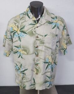 1ab3360aa NFL Denver Broncos Hawaiian Shirt 100% Rayon Floral Print Size Mens ...
