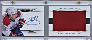 2013-14-PANINI-NATIONAL-TREASURES-BOOKLET-RC-AUTO-BRENDAN-GALLAGHER-11-99-RB-BG