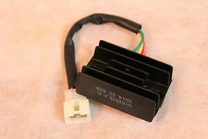 voltage regulator rectifier 4 wires 4 pin 12v gy6 50cc. Black Bedroom Furniture Sets. Home Design Ideas