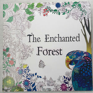 English Adult Secret Garden The Enchanted Forest Treasure