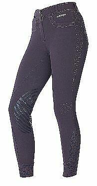 Just Togs Mujeres gris Equitación mallas pantalones tamaño  12 14  14