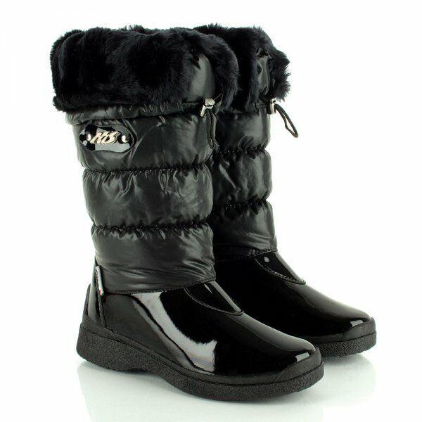 DANIEL nero Nize donna 65533;s Flat Snow avvio's Dimensione UK  4 EU 37 BT04 11  economico in alta qualità