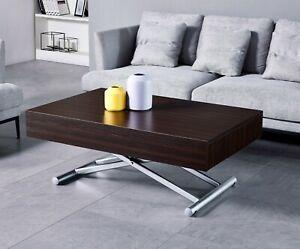 Tavolo Trasformabile Tavolino Saliscendi Tavolo Salva Spazio Tavolo Alzabile Ebay