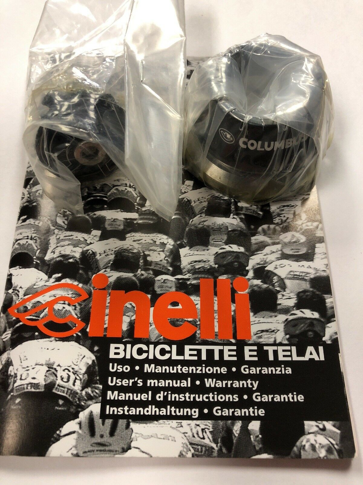 "Cinelli Headset Tapered 1 1 8"" - 1.5"" Brand New"