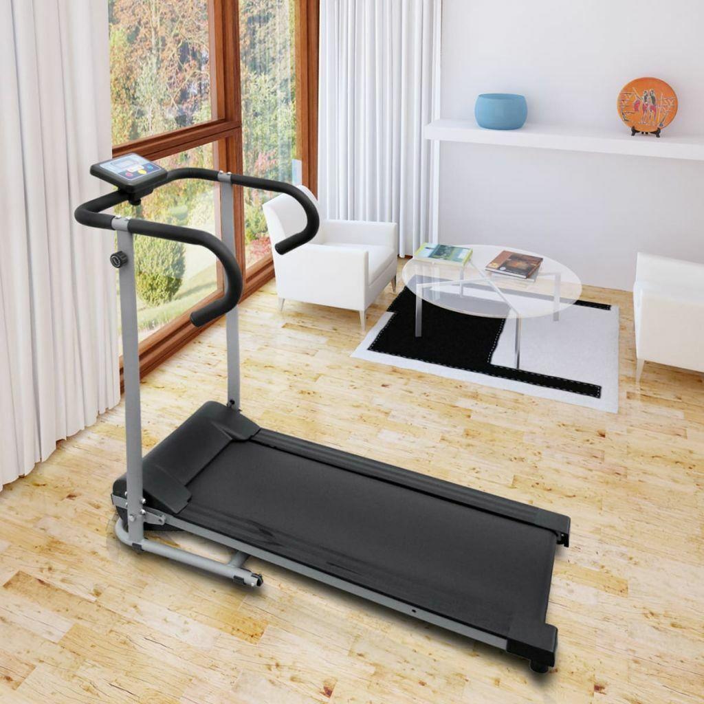 vidaXL Cinta de Correr Eléctrica 100x34 cm Pantalla LCD Caminadora Fitness Gym