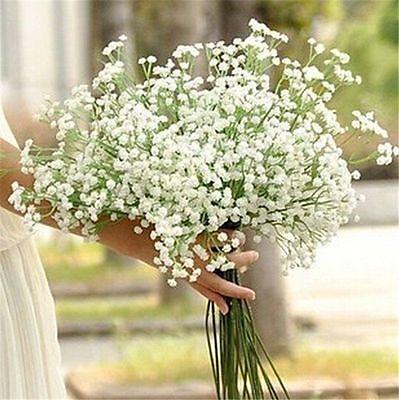 1Head Romantic Baby's Breath Gypsophila Silk Flower Party Wedding Home Décor CA