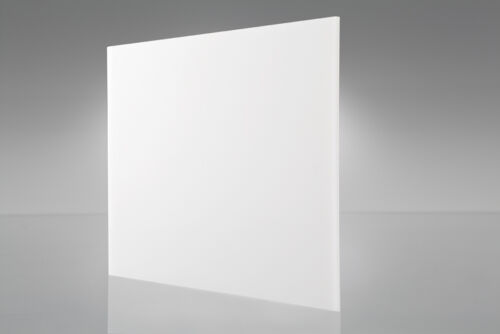 "4-pack White Translucent Acrylic Plexiglass sheet 1//8/"" x 3/"" x 3/"" #7328"