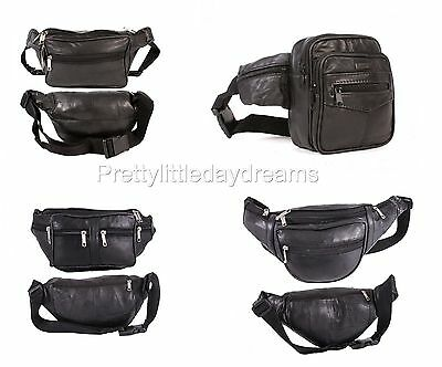 Compartment Travel Bum Bag Waist 6 Zipper Fasten Festival Money Pouch Safety