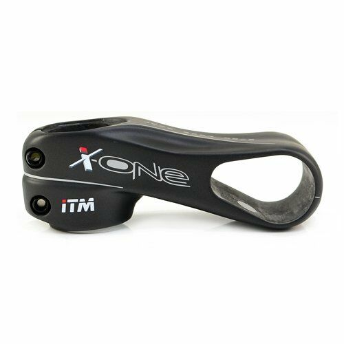 ITM X-ONE 1-1//8/'/'and 1-1//4/'/'Carbon Stem 31.8 x 90mm
