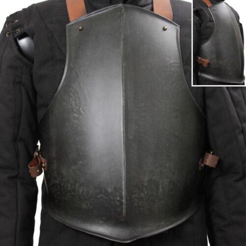 Epic Dark Steel Breastplate Body Armour Brilliant LARP Or Re-enactment Costume