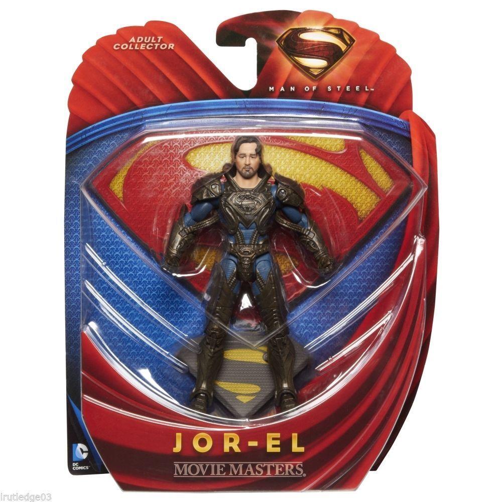 JOR-EL ( 6  ) MAN OF STEEL ( MOVIE MASTERS ) DC COMICS ( 2013 ) ACTION FIGURE