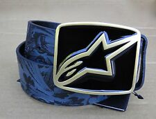 Alpinestars Racing Delux Mens Black Belt Size Sml/Med