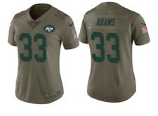 item 5 Nike NFL Jets Jersey Women Sz XL Limited Salute to Service Jamal  Adams  33 NWT -Nike NFL Jets Jersey Women Sz XL Limited Salute to Service  Jamal ... 03af5fbae