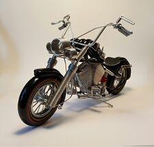 Harley motorcycle model aluminium coil miniature handmade