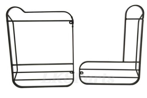 LAND ROVER DEFENDER 90 110 REAR LAMP GUARDS PAIR KIT STC53157 NEW