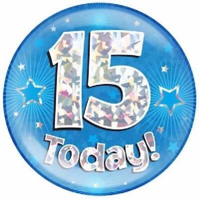 15th Birthday Badge