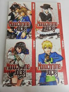 MONOCHROME FACTOR VOLUMES 1-4 TOKYOPOP MANGA IN ENGLISH!
