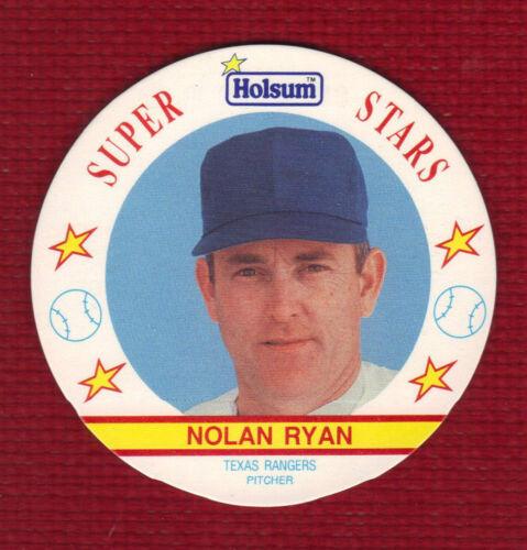 Texas Rangers Rare! NOLAN RYAN 1991 HOLSUM DISC #19 DISTRIBUTED in CANADA ONLY