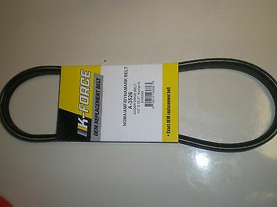 "EXACT SIZE KEVLAR BELT fits Murray, Craftsman snowblower 3526, 3526ma 1/2""X30.2"""
