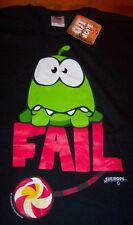 CUT THE ROPE EPIC FAIL Video Game T-Shirt MEDIUM NEW w/ TAG