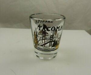 shot glass Tacoma Washington  souvenir collectible