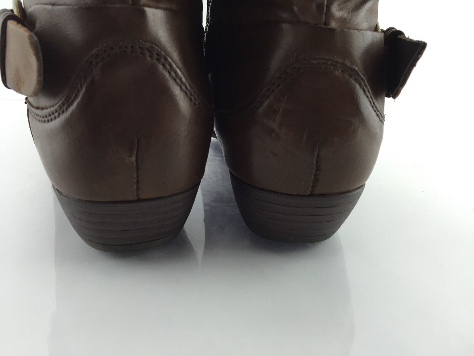 Spring Spring Spring Step Women's Brown Ankle Boots 37 e8aca1