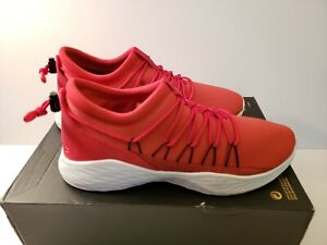 79ad9735cd4a77 NEW AIR JORDAN FORMULA 23 Size 12 Toggle Red White-Blk Men s 908859 ...