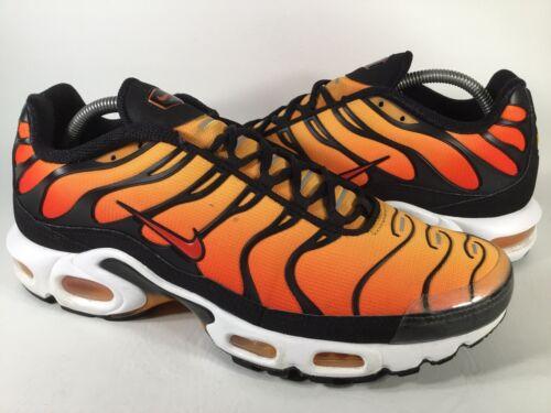Nike Air Max Plus Tn OG Sunset Pimento Orange Tige
