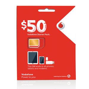 Nano Sim Karte Vodafone.Details Zu Australia Vodafone Prepaid Mobile 50 Starter Kit Standard Micro Nano Sim Card