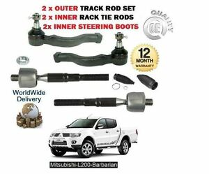 FOR DAIHATSU TERIOS 1997-2006 NEW 2x OUTER /& 2x INNER TRACK TIE RACK ROD END