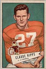 1952 Bowman Large 41 Claude Hipps EX #D313381
