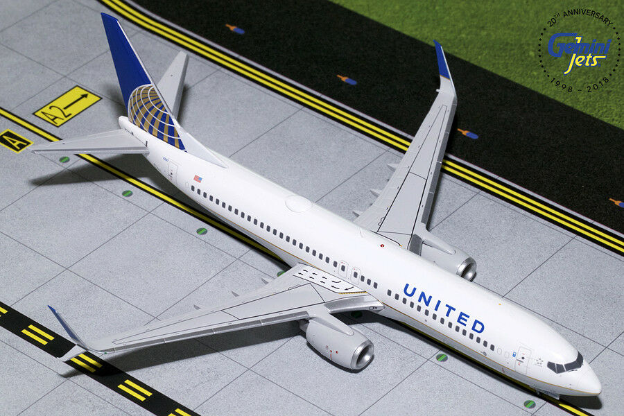 Gemini Jets Jets 1 200 United Airlines Boeing 737-800 N14237 G2UAL759 IN STOCK